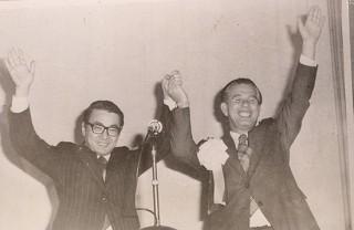 1972年 諫山弁護士 福岡一区から衆議院議員当選