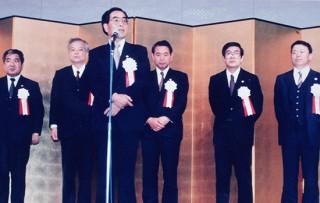 1989年 小島弁護士 福岡県弁護士会副会長就任
