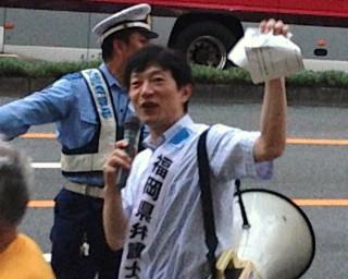 20150719 安保廃案デモ 毛利2IMG_0577